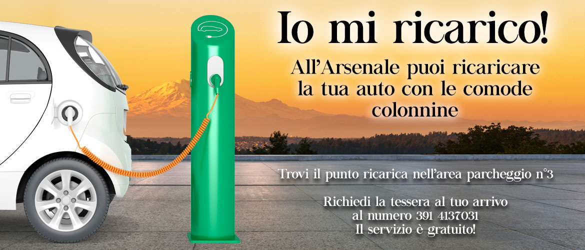 All'Arsenale di Roncade, io mi ricarico!